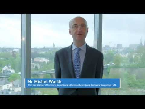 7th International Insurance Conference: welcome video Luxembourg