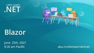 Let's Learn .NET - Blazor