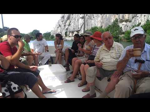 Adriatic Cruise, excursion up the Cetina River from Pirate town of Omis