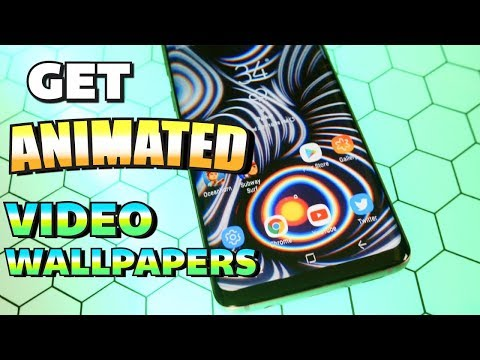 Get HD LIVE Animated Wallpapers On ANY Android Phone/Tablet (NO ROOT!!!) - 2020 (Video Wallpapers)