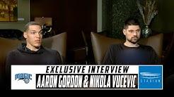 Shams Charania Sits Down With Aaron Gordon and Nikola Vucevic of the Orlando Magic | Stadium
