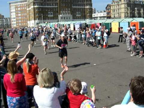 Lawrence Hobbs Brighton Marathon 2011 (Inbound)