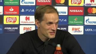 La conférence de presse de Thomas Tuchel après PSG-Bruges