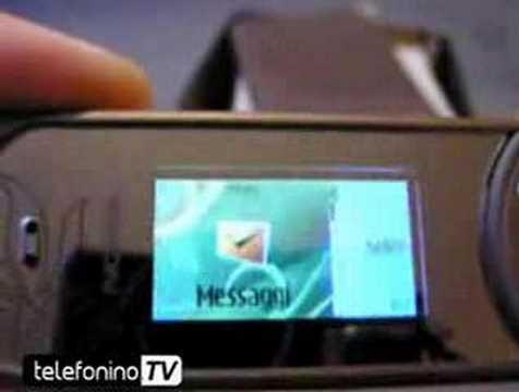 La videoprova del nuovo telefonino Nokia 7380