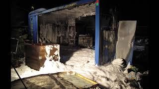 Polizei: Das passiert nach Containerbrand mit 89-jähriger Bewohnerin