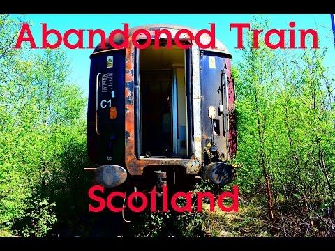 Inside Abandoned Train Scotland