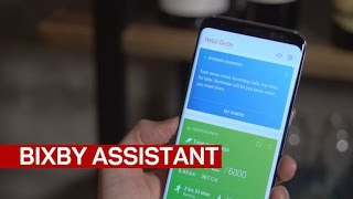 The Samsung Galaxy S8's new Bixby Assistant