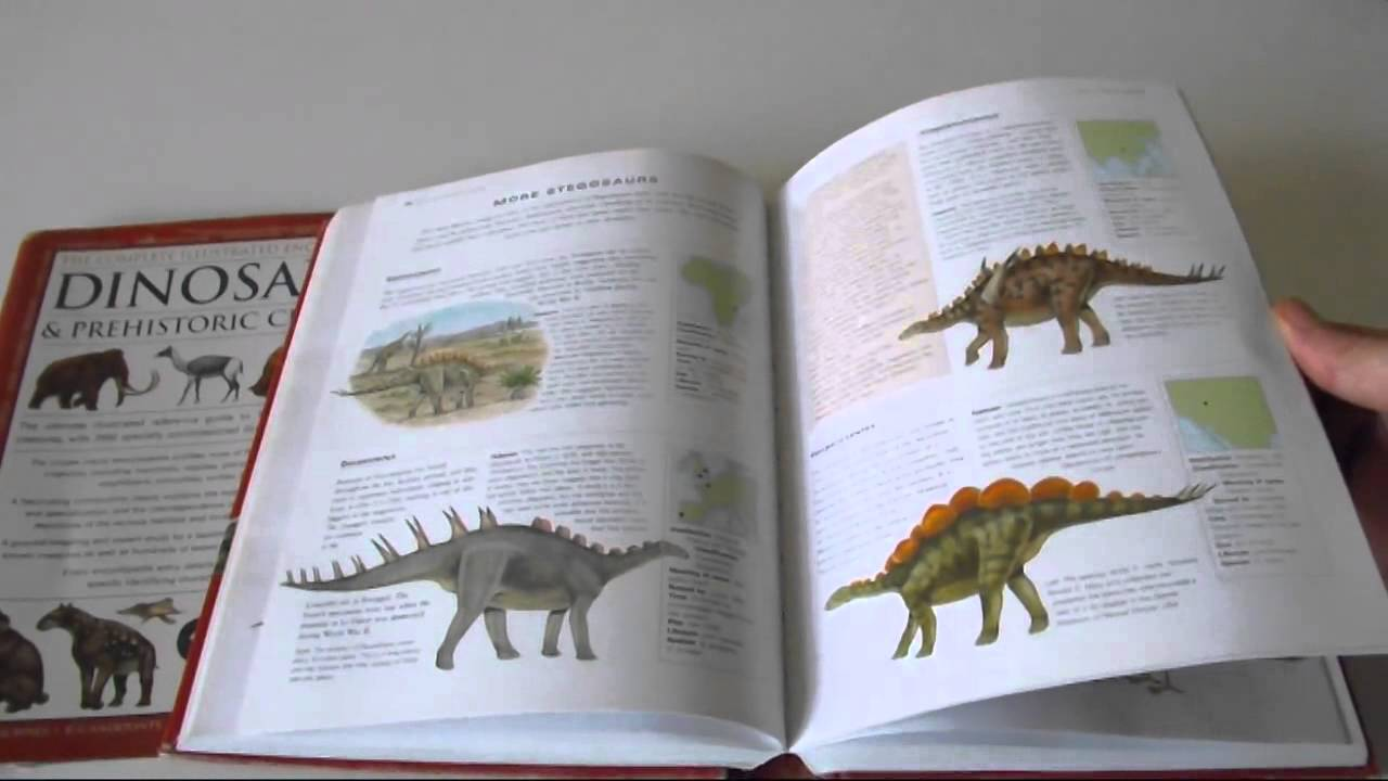 The Complete Illustrated Encyclopedia Of Dinosaurs