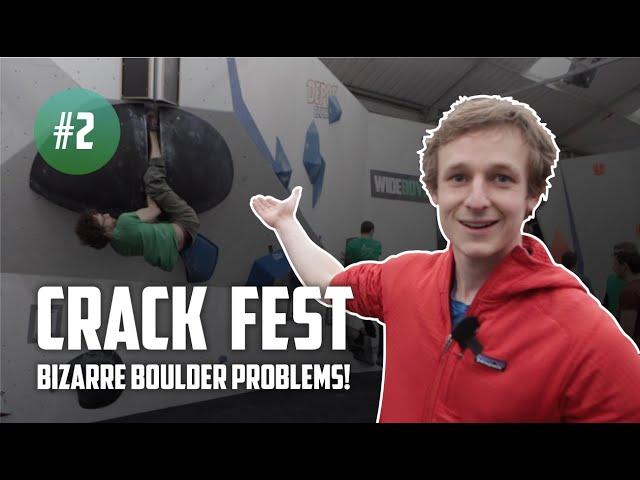 Future of indoor climbing competitions | Crack Fest