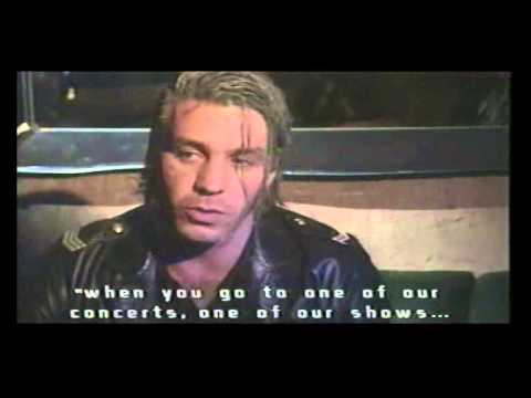 Rammstein - Interview for MTV with Till, Paul & Christoph 1998