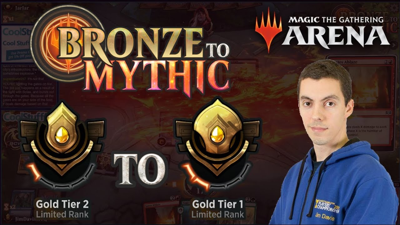 MTG Arena: Limited Bronze To Mythic - Episode Seven - Gold Tier 2 to Gold  Tier 1