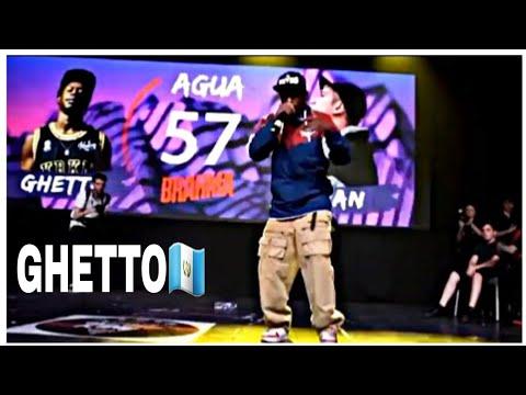 Ghetto 🇬🇹 el mejor rapero de Guatemala | TFK 2 - Ghetto VS Khan - (CUARTOS)