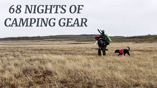 68 Night Camping Gear Loadout: Crossing Newfoundland Wilderness | Channel Update