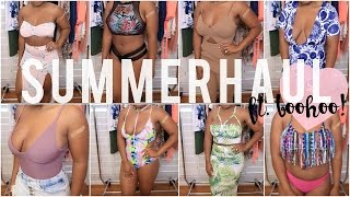 HUGE Summer Try-On Haul ft. Boohoo!