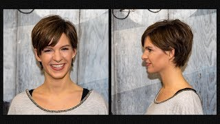 long to short pixie haircut women | extreme hair makeover | hairstyles 2018 by Alves & Bechthold
