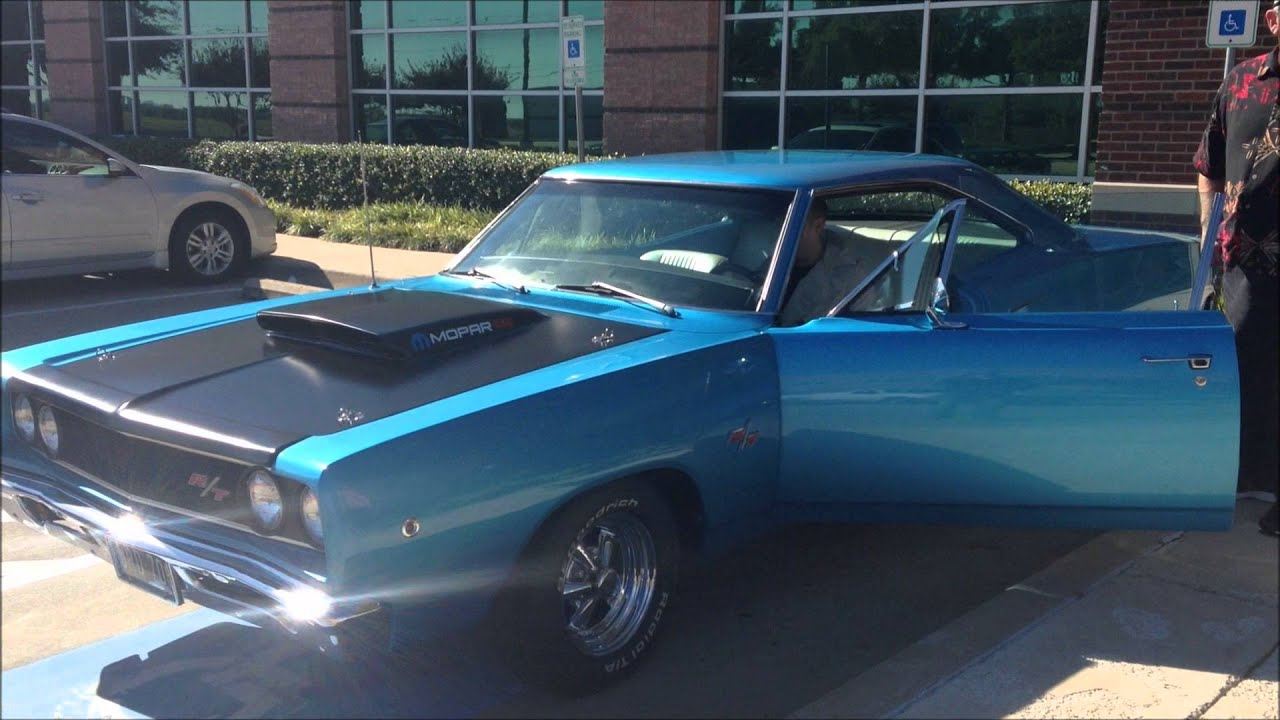 Mean Sounding 1968 Dodge Coronet Muscle Car 500 These ...