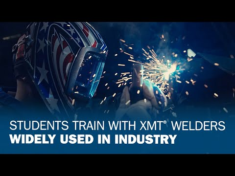 Students Train With XMT Welders Widely Used In Industry