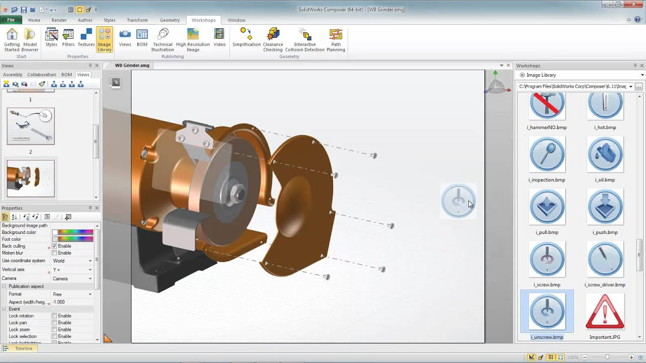 solidworks composer easy instruction manual creation youtube rh youtube com