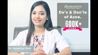 Acne Prone Skin Care Routine  | Acne Do's and Don'ts by Doctor Anupriya Goel (Part 2)