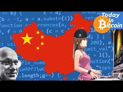 Today in Bitcoin (2017-07-07) - Bitcoin is an asset not a currency, says China