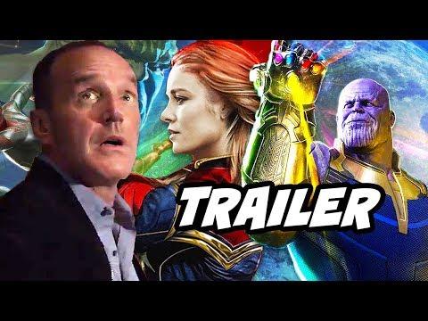 Agents Of SHIELD Season 5 Trailer - Avengers Infinity War and Runaways