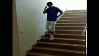 階段を立ったまま往復する(ジョジョ往復) thumbnail