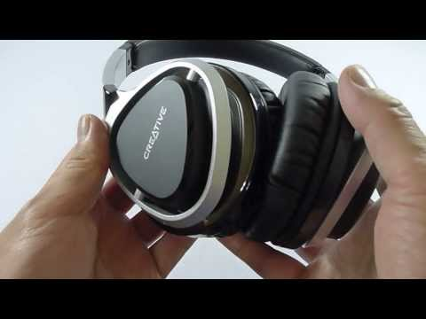 First Look: Creative Aurvana Live! 2 Headphones Unboxing