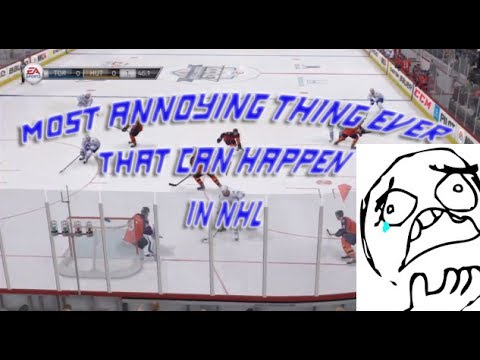 Most annoying thing that can happen on NHL 14?!