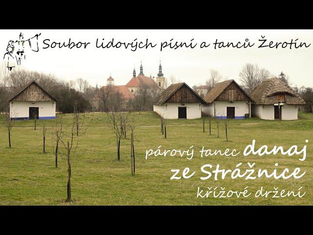 SLPT Žerotín - Párový tanec danaj ze Strážnice - křížové držení