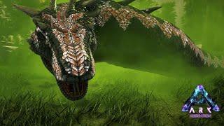 伝説の巨大ヘビ「バジリスク」に遭遇! - ARK Aberration ゆっくり実況#3