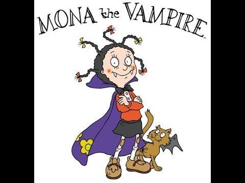 Mona the vampire Theme song lyrics video