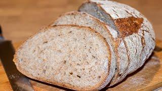 Хлеб на Закваске 1 2 3 Простой рецепт Ирина Кукинг
