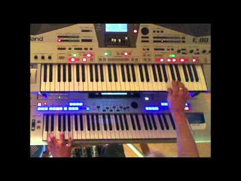 Rosamunde.mp4 Tyros4 et Roland E-80