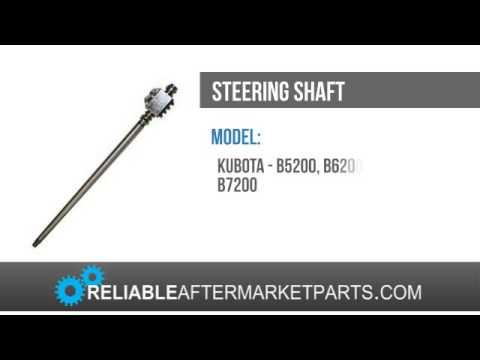 New Kubota Tractor Steering Shaft B5200 B6200 B7200 Series Ball Nut Assembly