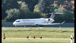 Lufthansa CityLine Bombardier CRJ-900LR D-ACNT LH9951 Takeoff at Berlin Tegel Airport