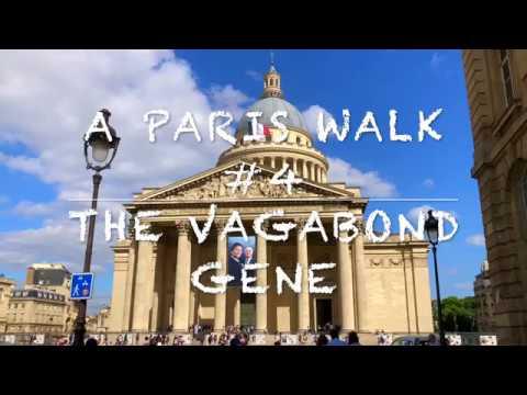 A Paris Walk #4 Pantheon and Luxembourg Gardens Natural Sounds