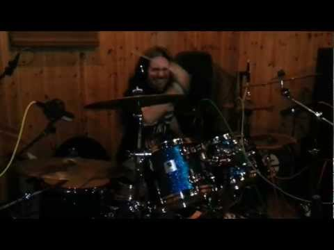Desert - Studio Diary Pt.1 -  Drums Recording Session 2013