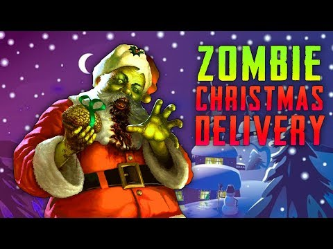 ZOMBIE CHRISTMAS DELIVERY (Call of Duty Zombies)