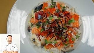 $200 Chirashi Dish - How To Make Sushi Series