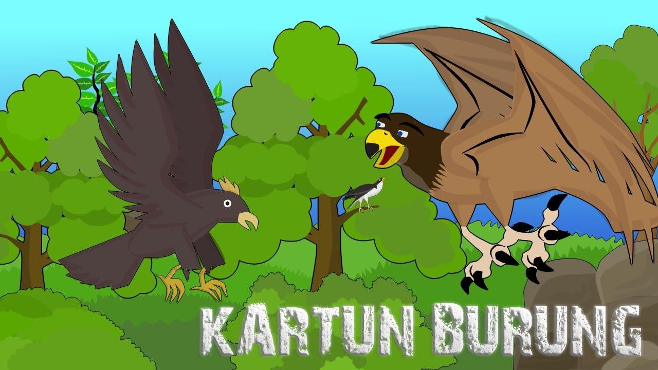 Gambar Animasi Burung Elang