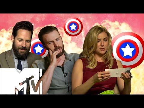 Captain America: Civil War Cast Answer YOUR Fan Questions | MTV Movies