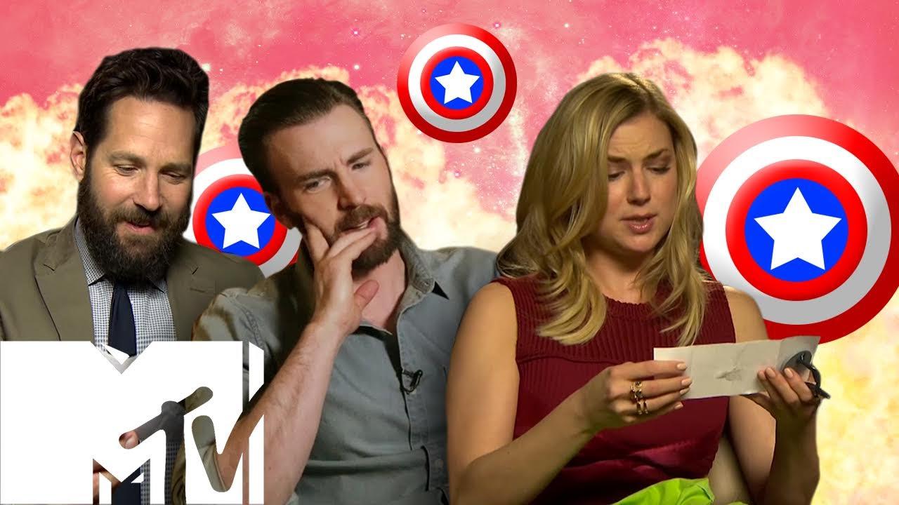 Captain America Civil War Cast Answer YOUR Fan Questions   MTV Movies