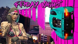 LIVE - FRIDAY NIGHT FUN - ROAD TO 3K SUBS  (( GTA 5 ONLINE PS4 ))