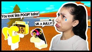 BULLIED BY A BABY! SHE CALLED ME POOP! - Roblox Roleplay - Adopt and Raise a Cute Kid