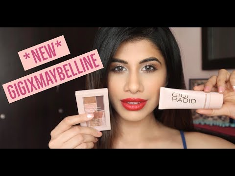 *NEW* GigixMaybelline Collection | Tutorial & Review | Malvika Sitlani