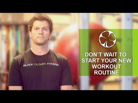 Omaha Fitness: Don't Wait to Start Your New Workout Routine