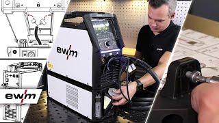 Wasserkühler montieren / Mount the water cooler - Tetrix XQ 230 puls | EWM