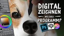 DIGITAL ZEICHNEN - Welches Programm ist für dich? | Drawinglikeasir