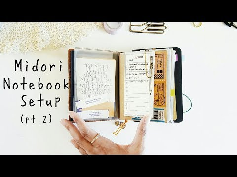 How I Set Up My Passport Traveler's Notebook (Part 2)