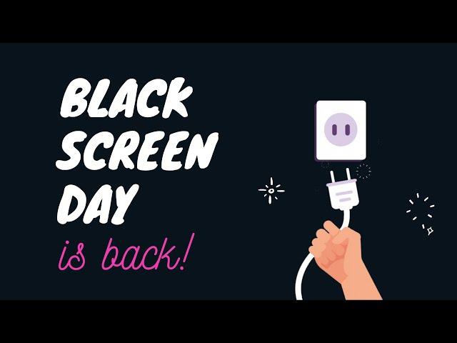 MANQUECURA Black Screen Day